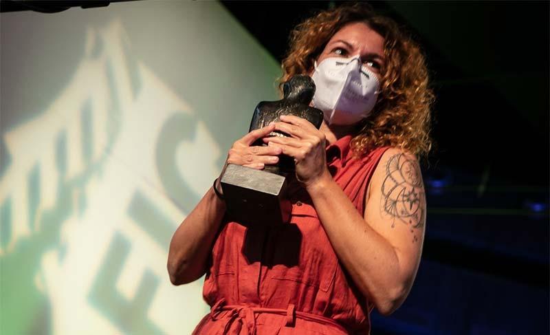 Erika Sánchez, direcora del corto 'Panteres'